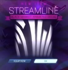 Streamline Black Market Decal, Rocket League, Xbox One [Read Description] [New]