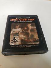 Math Gran Prix (Atari 2600, 1982)