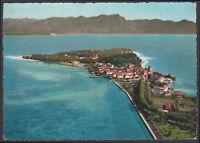 cartolina SIRMIONE lago di garda (dall'aereo)