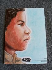 2020 TOPPS STAR WARS THE RISE OF SKYWALKER SERIES 2,SKETCH BY FRANK SANSONE 1/1