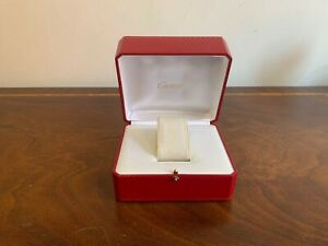 Genuine Cartier watch box set for collectors