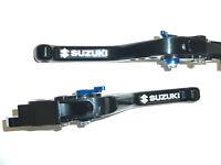 SUZUKI GSX1250 F SA ABS 10-16 SHORT BLACK BRAKE & CLUTCH LEVERS ROAD RACE  R15D6