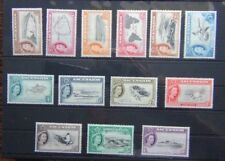 Ascension Island 1956 set to 10s LMM SG57 - SG69