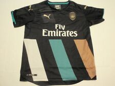 Arsenal Soccer Puma Jersey Size Boys Large Fly Emirates Dri Cell