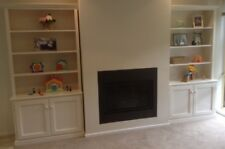 Wall Units (2), 1800x900x320 with 2 doors each, WHITE