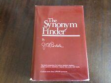THE SYNONYM FINDER J I RODALE HARDBACK 1981