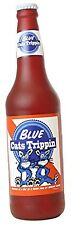 Silly Squeakers Blue Cats Trippin Beer Bottle Dog Toy, Brown