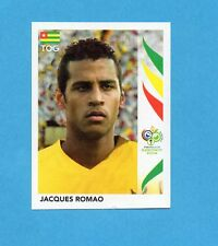 PANINI-GERMANY 2006-Figurina n.524- ROMAO - TOGO -NEW BLACK
