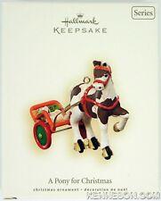 A Pony for Christmas Series #10 Hallmark Ornament 2007