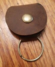 Epessa Leather Guitar Pick Case/key Chain. Brand New! Brown leather. Retail $40.