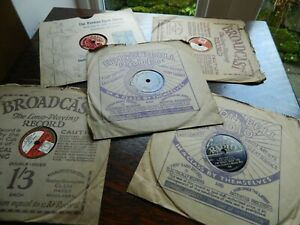 Five   Dance Band  78 on eight inch Records