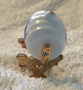 Christine Von Gampe/Mayfair Boxed Collectable China Ornament - Wine Barrel