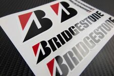 Bridgestone tires Laminated stickers decals graphics honda suzuki kawasaki