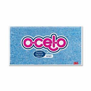"O-cel-o Large Sponge - 4.2"" X 7.7"" X 1.5"" - 1each - Blue (7264T)"