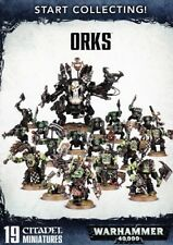 Start collecting Orques WARHAMMER 40.000 Ork Games Workshop GW 40k Ork 70-50 armée