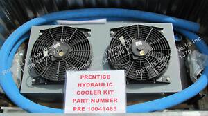 Prentice Loader hydraulic oil cooler kit for 120C, 120E, 90E, 124, 2124 Cranes.