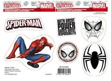 Spiderman (2 sheets) set of vinyl stickers 160mm x 110mm (aby)