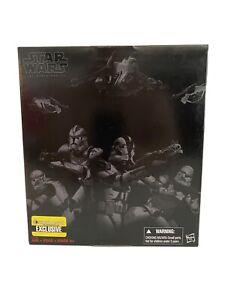 """Star Wars Black Series 6""""(Exclusive) ORDER 66"""" Clone Troopers 4-pack EE Hasbro"""