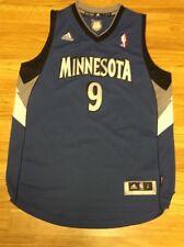 Adidas Minnesota Timberwolves Ricky Rubio Youth Jersey Size Large