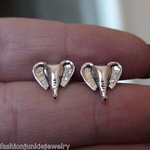 Elephant Earrings - 925 Sterling Silver Elephant Post Earrings *NEW Stud Jewelry