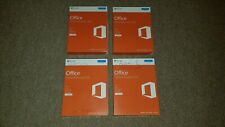 4 x Microsoft Office Home & Business 2016 Medialess T5D-02826 Genuine Boxed