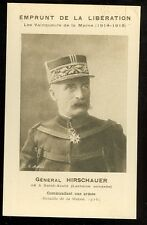 Wwi France, General Hirchauer 1914-18 (unmailed(military L#10