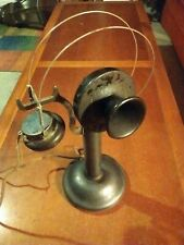 Antique Western Electric Train RR Depot Candlestick Telephone
