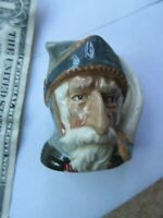 Striking 1956 ROYAL DOULTON DON QUIXOTE LA MANCHA Ceramic Toby Jug, England GIFT