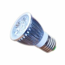 LED Strahler Lampe 5 Watt 12V E27 warmweiss Birne Spot für Solar Anlagen