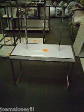 Handbag Purse / Baby Clothes Display White Retail Display Table