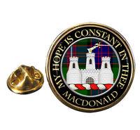Macdonald of Clanranald Clan Crest Lapel Pin Badge
