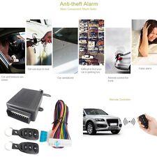 Black Auto Car Remote Control Central Door Lock Kit Locking Keyless Entry System