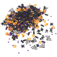 15g Halloween Confetti Pumpkin Spider Witch Bats Confetti Sprinkle Table  JR