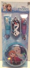 Disney Frozen Lip Gloss & Tin Carrying Case Gift Set Licensed Authentic New!