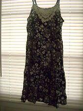 Arizona Girls Size 10 Dress Black and White Detailed Inset NWT