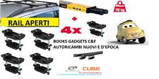 Kia Sorento I SUV (02>09) Kit Barre Portapacchi Portabagagli (RAIL APERTI) Cam