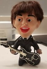 Beatles 1964 remco Paul McCartney seltaeb doll with instrument soft body Nice!