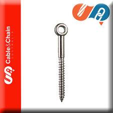 10 X M6*60 SS eye screw - 316