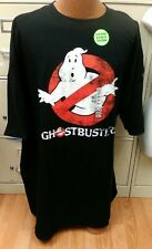 Ghostbusters Black T-Shirt Glow In The Dark Mens Size 3Xlt Brand New