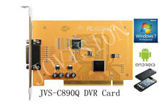 4 canali DVR CARD sicurezza CCTV registratore Win7 & 8 32 e 64 Remote Monitoring P2P