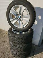 Winterreifen BMW 5er F10 F11 6er F12 F13 RSC Runflat RDK Sensoren 225/55 R17 97H