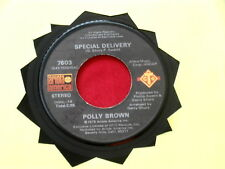 POLLY BROWN~SPECIAL DELIVERY~ MODERN BOOGIE~SOS~ ARIOLA AMERICA~ SOUL 45