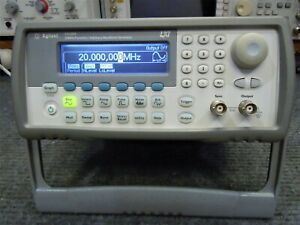 Agilent 33220A Function / Arbitrary Waveform Generator - Tested and Working