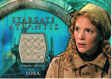 STARGATE ATLANTIS SEASON 1 COSTUME CARD SORA