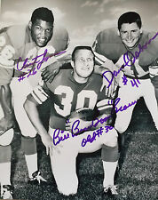 Minnesota Viking Greats Osborn, Brown Jones Original Signed Photo (RARE) W/COA