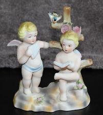Vintage Andrea by Sadek cherub figurine music figure