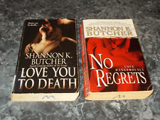 Shannon K Butcher lot of 2 Romantic suspense paperbacks