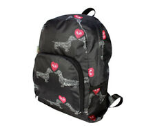 Dachshund Sausage Dog Weiner Dog Love Rucksack Backpack by Re-Uz Brand New