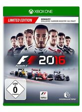 Codemasters Xb1 F1 2016 Limited Edition