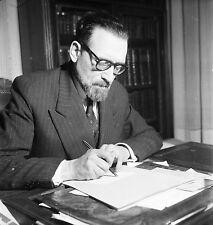 Jacob KAPLAN 1953 - Grand Rabbin de Paris - Négatif 6 x 6 - 141